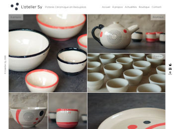 L'atelier Sy Homepage