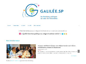 Galilée.sp homepage