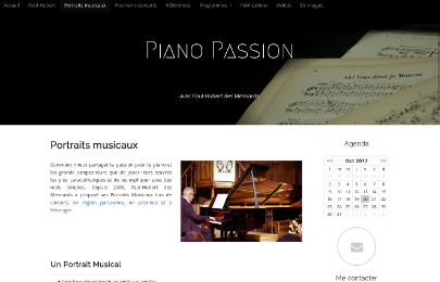 Piano Passion Portraits musicaux