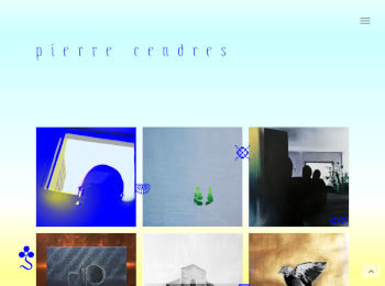Pierre Cendres homepage